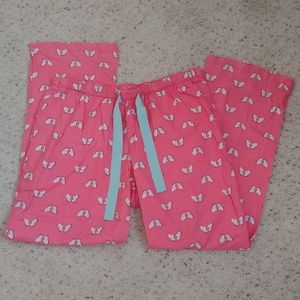 Old Navy Pink Butterfly PJ Lounge Pants